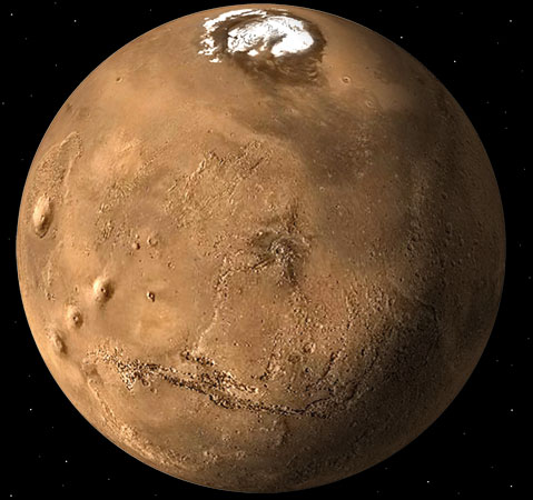 Mars - The North Pole